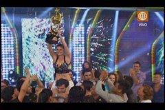 Reyes del Show: Carolina Cano y Eduardo Pastrana levantan la copa