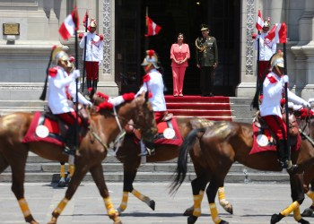 Ollanta Humala no participó en último Cambio de Guardia del 2013