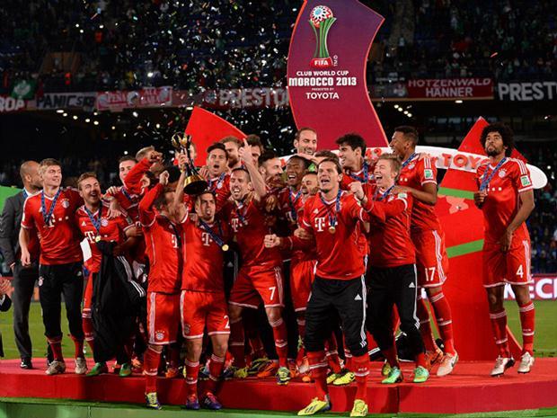 Bayern Munich de Alemania (con Claudio Pizarro) se consagró campeón mundial de clubes 2013.