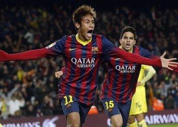 Neymar anotó su primer doblete con el Barcelona en la Liga y cerró una sensacional semanal ya que por la Champions (ante Celtic de Ecocia el último miércoles) marcó un hat-trick.