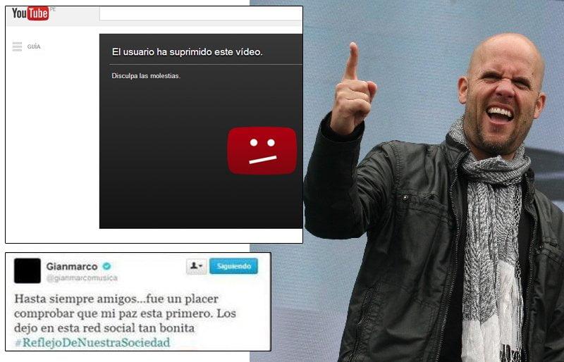 [VIDEO] Gian Marco borró video en el que llamó 'imberbes' a detractores