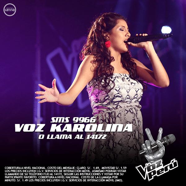 La Voz Perú: Karolina Cruz abandona la competencia en la final