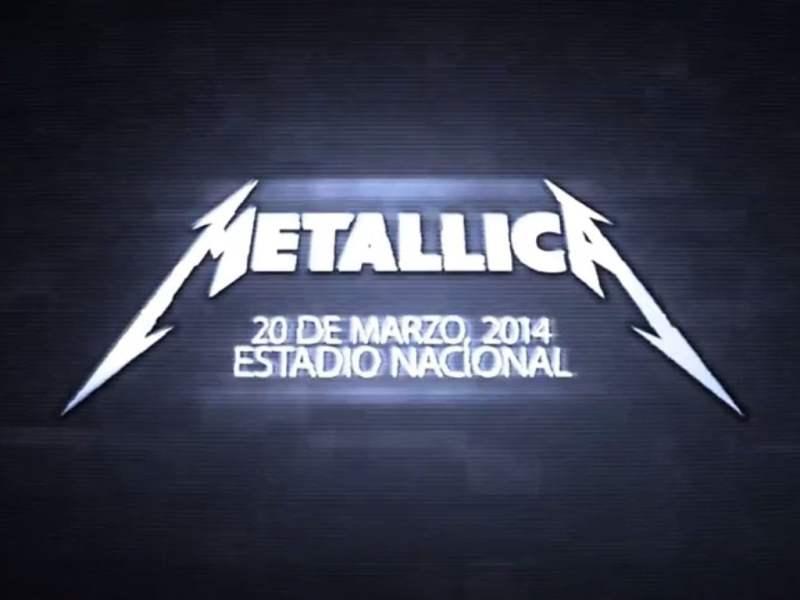 [VIDEO] Metallica en Lima: Mira la primera promocional de su próximo concierto