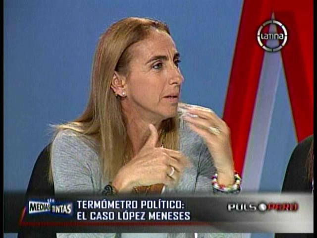 "[VIDEO] Natalia Málaga: ""Desapruebo a Ollanta Humala y él sabía de López Meneses"""
