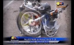 [VIDEO] Falleció padre de Ricardo Morán en lamentable accidente