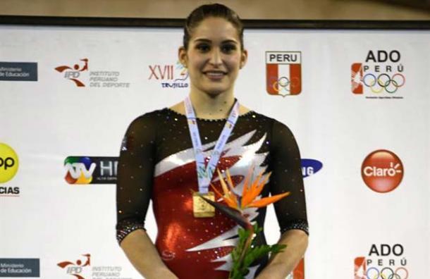Nuestra compatriota Sandra Collantes nuevamente brilló al obtener el oro en el Sudamericano desarrollado en Chile.