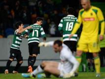 Sporting de Lisboa tomó nuevamente la punta en Portugal.