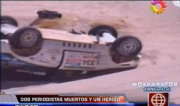 [VIDEO] Rally Dakar: Mueren dos periodistas y peruano resultó herido