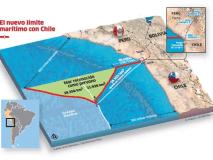 FOTO: Así queda la frontera marítima entre Perú y Chile tras fallo de La Haya