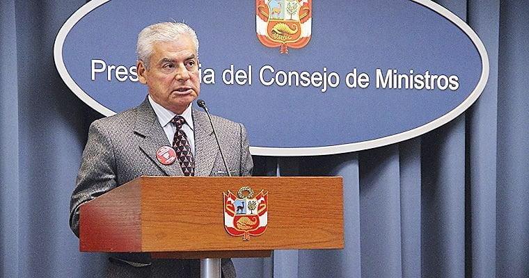 Foto: El Peruano / César Villanueva confirma cambios en el Gabinete Ministerial