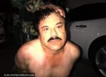 [FOTO Blog del Narco] El Chapo Guzmán: Primera imagen tras ser capturado en México
