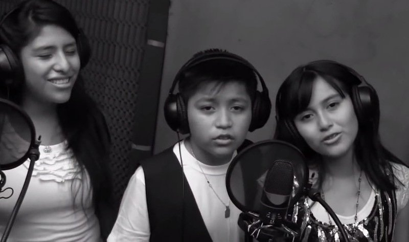 La Voz Kids: Amy Gutiérrez y Michael Villar graban tema musical y videoclip