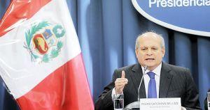Foto: El Peruano / Ministro Cateriano iba a renunciar y revela que fue tensa cita del 2+2