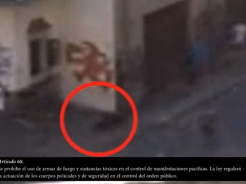 Video revela el cobarde asesinato de un estudiante que marchó contra Maduro