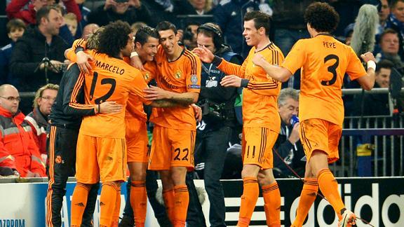 """Real Madrid fue esta vez una """"naranja mecánica"""" ante Schalke 04."""