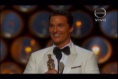 Foto Frecuencia Latina / Matthew McConaughey gana el Oscar a Mejor actor