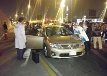 FOTO Twitter RPP / Delincuentes disparan contra pareja cerca al aeropuerto Jorge Chávez