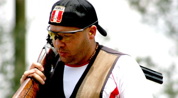 El tirador Asier Cilloniz puso en alto el nombre de Perú en Odesur.