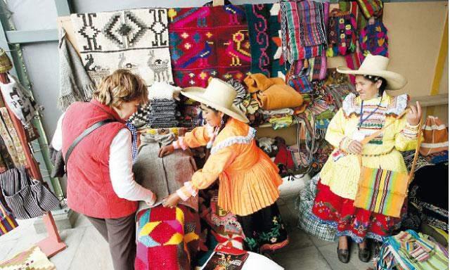 Los envíos  de artesanías peruanas al exterior generaron mayor demanda internacional durante enero.
