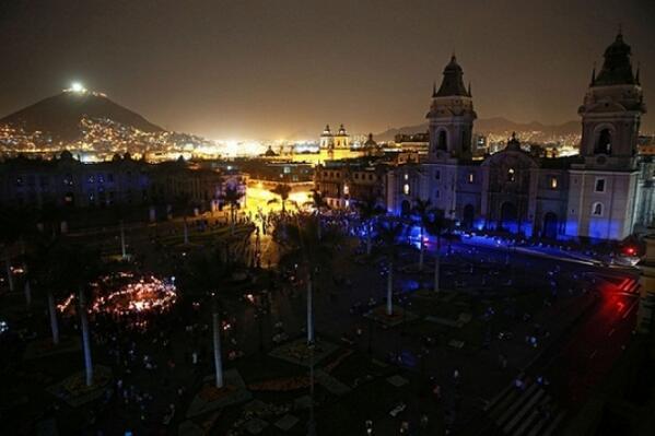 La Hora del Planeta: Peruanos apagan sus luces y se suman a cruzada