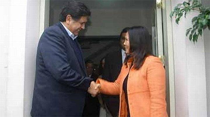 """Foto El Comercio / Alan García responde """"no lo se"""" sobre posible alianza con el Fujimorismo"""