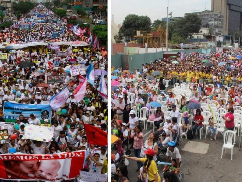 [FOTOS] Marcha por la Vida: Mar humano participó en manifestación contra el aborto