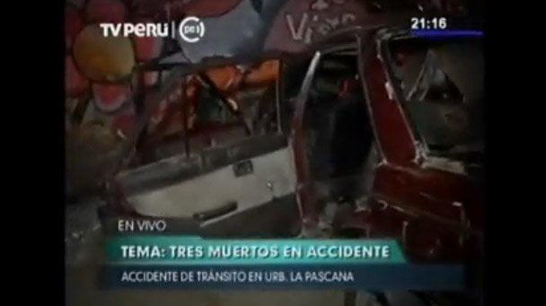 Comas: Dos niños y dos jóvenes murieron tras choque de automovil