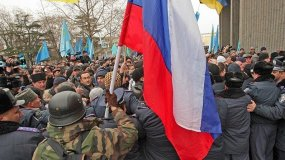 Foto RT / Ucrania y Rusia se movilizan y hay riesgo de guerra en península de Crimea