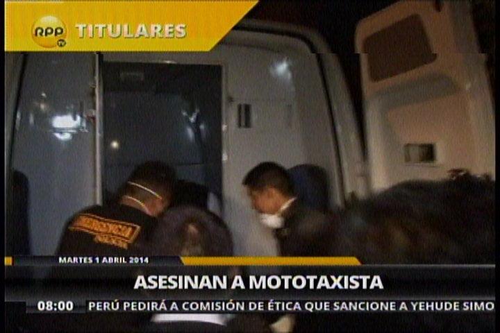 San Juan de Lurigancho: Matan y entierran a mototaxista en patio de inmueble