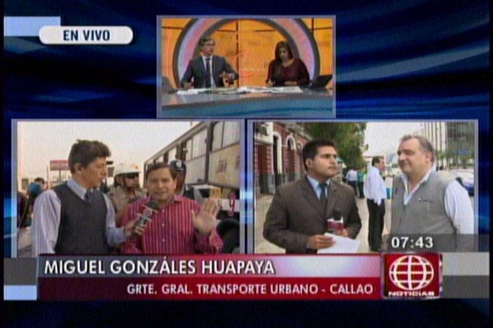 Ruta OM-18 de Orión ya no debe circular por el Callao desde hoy