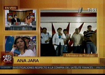 Ministra Jara pide a Walter Albán responder por denuncias contra Nena Escalante