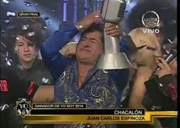 [VIDEO] Yo Soy: Chacalón gana la gran final y la chicha se impone