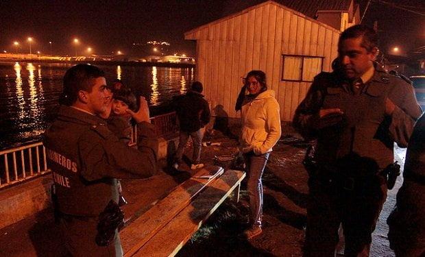 Foto La Tercera / Terremoto en Chile: Réplica de 7.6 grados obliga a evacuación preventiva