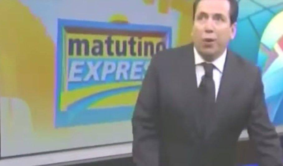 [VIDEO] Periodista estaba en vivo y terremoto lo sorprendió en México