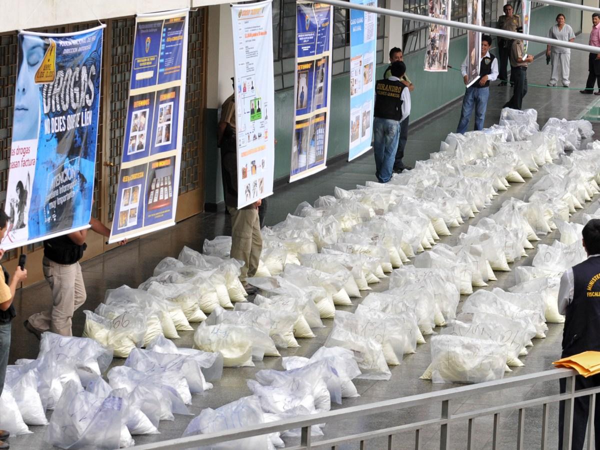 FOTO Ministerio del Interior / Policía desbarata organización del narcotráfico e incauta bienes por S/ 20 millones