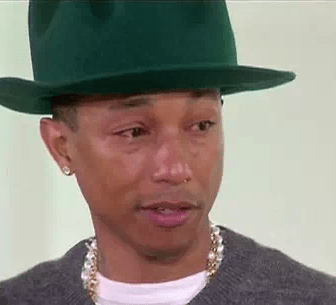 [VIDEO] Pharrell Williams llora con Oprah por éxito de 'Happy'