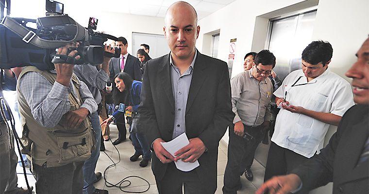 Tejada presentó denuncia por transferencia de US$ 405 mil a Gran Caimán