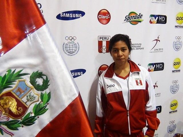 Steffi Murillo es una de las cuatro atletas peruanas que clasificaron a los Juegos Olímpicos de la Juventud.