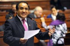 Foto Congreso / Gana Perú suspendió a congresista Molina por 'trabajador fantasma'