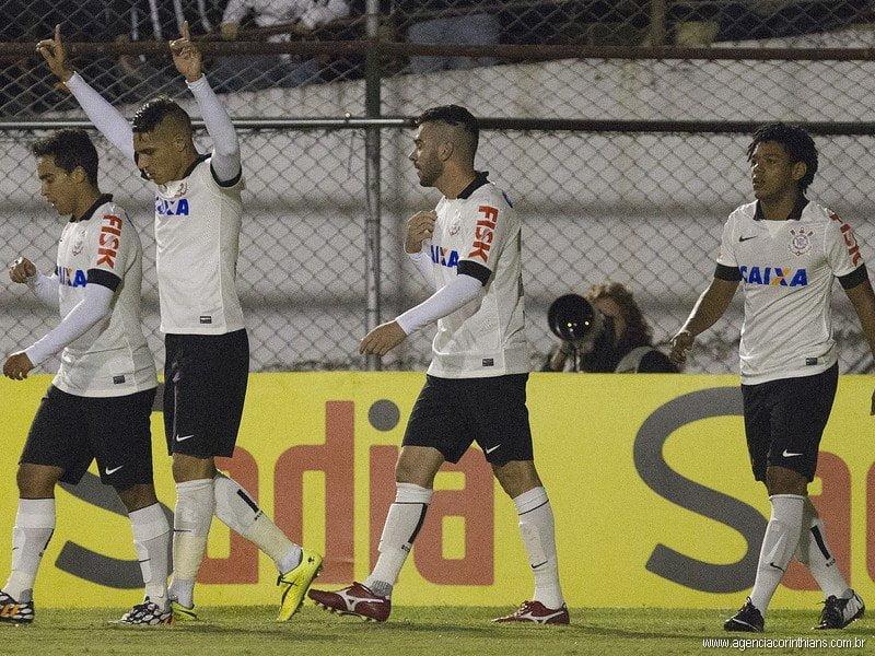 Guerrero celebró un nuevo triunfo con el Corinthians.