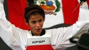 Julissa Diez Canseco volvió a darle una nueva alegría al Perú tras ganar competencia internacional de Taekwondo.