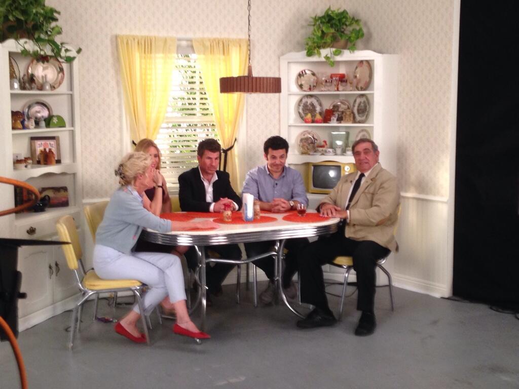 [FOTOS] Kevin, Winnie y el elenco de 'Los Años Maravillosos' se reencuentran
