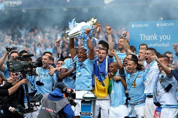 Manchester City se alzó con la Liga inglesa 2013-14.