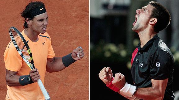 Mañana, Nadal y Djokovic jugarán en Roma su cuarta final entre sí.