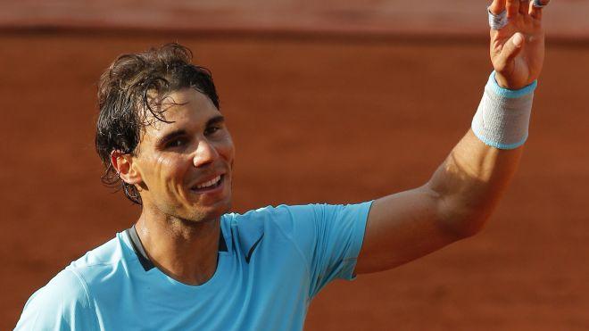 El español Rafael Nadal quiero su quinto trofeo consecutivo de Roland Garros y el noveno de su carrera.