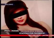 [VIDEO] Usan Facebook para prostituir a menores de 14 y 17 años