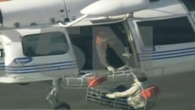 [VIDEO] Mueren cinco personas por caída de avioneta en el Río de la Plata