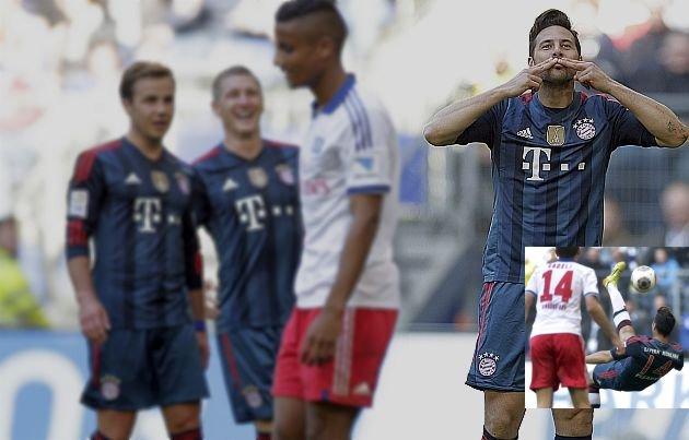 Claudio Pizarro sigue siendo garantía de gol a pesar de jugar pocos minutos.