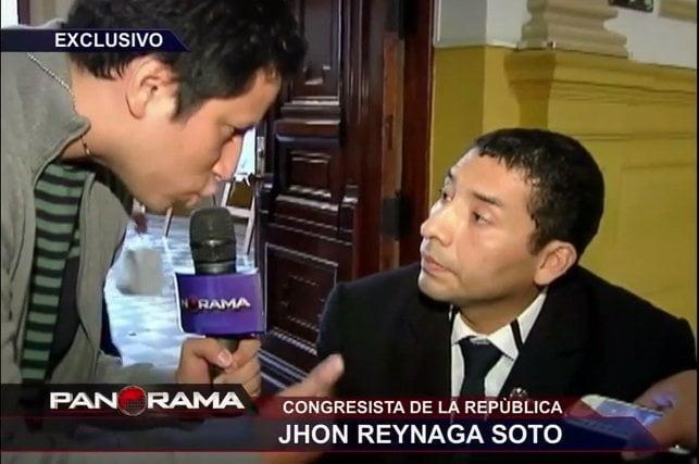 [VIDEO] Trabajador de congresista Reynaga le hacía trámites para su constructora