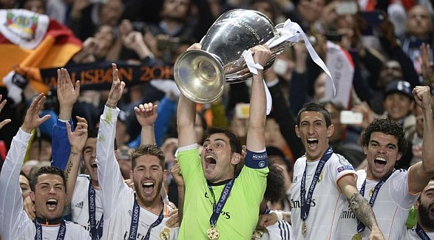 """Real Madrid logró levantar su décima """"orejona"""" al consagrarse campeón de Europa."""